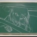 【進撃の巨人】黒板で描いてみたOPアニメーション!驚きのクオリティを紹介!
