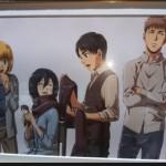 【進撃の巨人】原画展を紹介!大阪会場に行ってきたアニメ感想レポート!